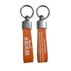 Metal Kauçuk Anahtarlık AN101