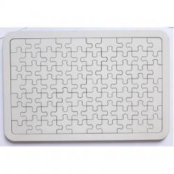 70 Parça Ahşap Puzzle A4 PZL05