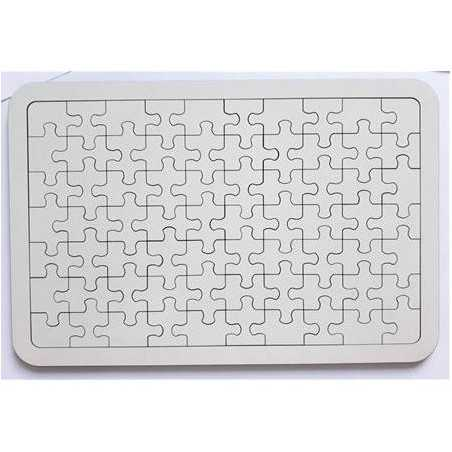 Ahşap Puzzle A4 PZL05