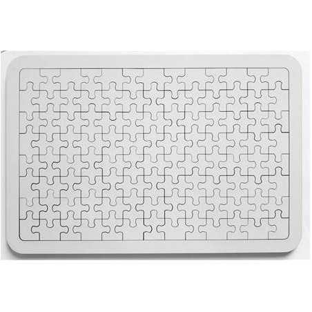 Ahşap Puzzle A3 PZL04