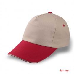 Pamuk Gabardin Şapka Bej...