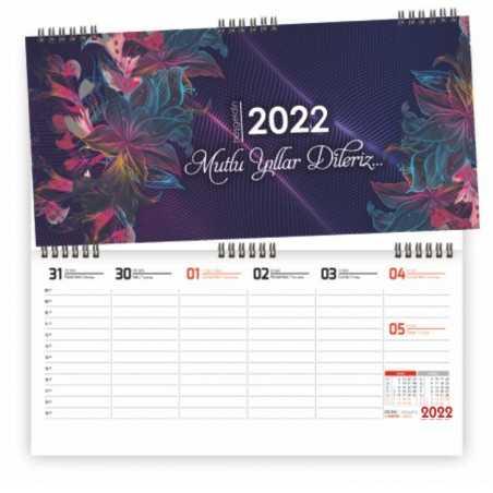 2022 Haftalık Masa Takvimi...